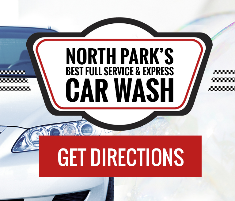 North Park Car Wash Mobile Slider