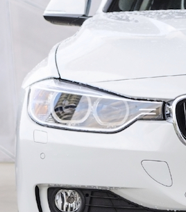 New disel series 320d presented at BMW Welt Expo center